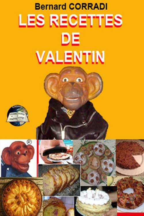 Les recettes de Valentin